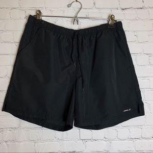 REEBOK Black Drawstrings Athletic Shorts